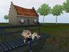 Dutchie mesh bridge in blue: 9 couple animations