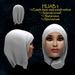 Hijab model 3 - islamic wear prefab special price for Ramadhan