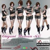 VISTA ANIMATIONS-ELEGANT WOMAN