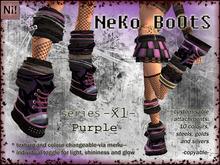 NeKo BoOtS -X1- Purple