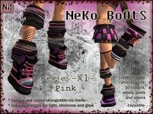NeKo BoOtS -X1- Pink