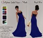 ! Jellybean Isabel Gown - Royal Blue - Mesh ** LIMITED SPECIAL PROMO ** 50L