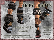 NeKo BoOtS -X1- Black