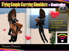 ::CreaTive DesiGn'S:: 0029 - Flying Couple Carrying On Shoulders + Controller HUD