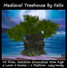 Medieval Tree House (for cave cavern grotto sky skybox landscaping water waterfall stone rock garden home tiki tree )