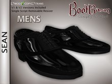 Bootgasm Sean Men's Tuxedo Dress Shoes Black