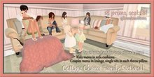 ~La'Licious~ Family Sectional {Cottage Charm} Fixed