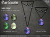 Necklace - Shell Teardrop Pendant