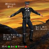 Motorcycle Black