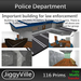 Police Department Boxed