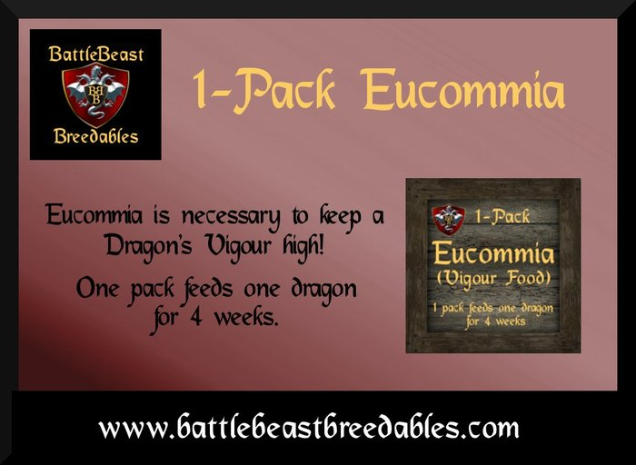 BattleBeast Breedables-Eucommia 1-Pack v2.0b (MP)