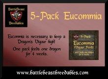 BattleBeast Breedables-Eucommia Food 5-Pack v2.0b (MP)