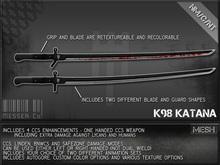 Messer Co.  K98 - Katana Crate-CCS Enhanced