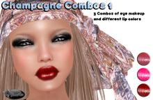 .:Glamorize:. Champagne Combos 1 - 3 Tattoo Makeup Combos
