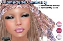 .:Glamorize:. Champagne Combos 3 - 3 Tattoo Makeup Combos