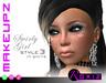 ROXIZ... MAKEUPZ > Swirly Girl Style 3 in White