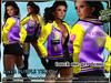 ..::Knockout!..::Coat mesh purple