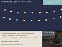 {what next} Amalfi String Lights - Carnival