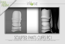 Sculpted pant cuffs PC1 Full permission