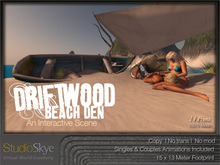NEW+ Driftwood Beach Den from Studio Skye 100% MESH