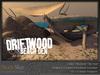Skye driftwood beach den 4