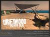 Skye driftwood beach den