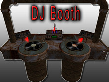 [C a r o X] Corrosion  DJ Booth / DJ Gear , animated Turntabels, EqualizerLights+ Speakers- Copy Modi