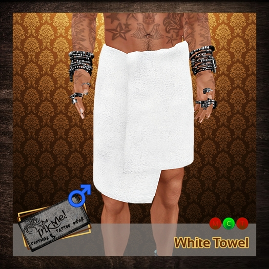 ...:::InkMe!:::...Towel White