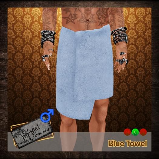 ...:::InkMe!:::...Towel Blue