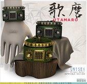 UNISEX[MANDALA]UTAMARO Bracelet /Green(wear me to unpack