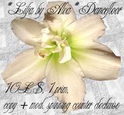 *Lilja by Alva* Dancefloor, spinning counter clockwise, -50%