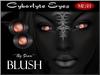 ~*By Snow*~ Cyborlyte Eyes (Blush) w/MESH