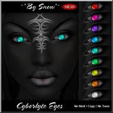 ~*By Snow*~ Cyborlyte Eyes (Fat Pack) w/MESH