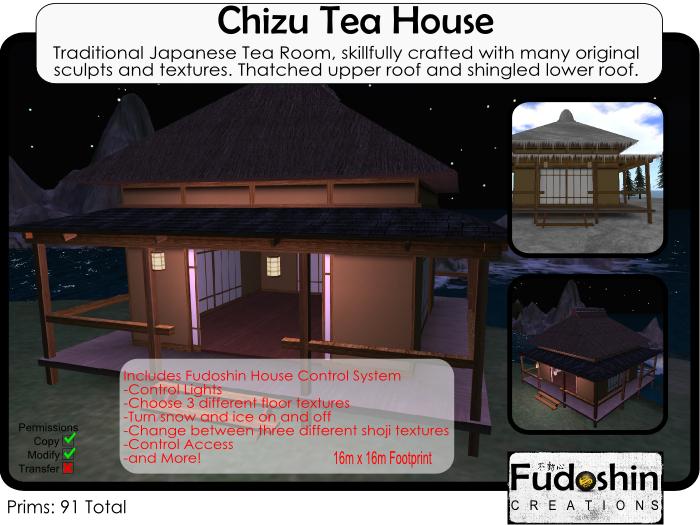 Japanese Chizu Tea House V1.0