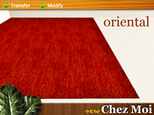 Red Rug Oriental Dinner ♥ CHEZ MOI