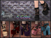 """Elegant Dolly"" Pumps with Lace Socks 6 Colors FAT PACK"