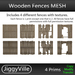 Wooden Fences Full Perm