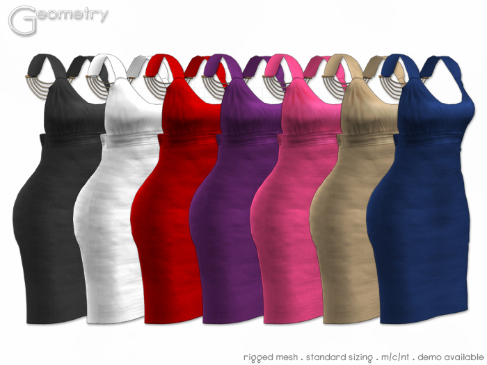 <Geometry> Chic > All Colors ( rigged mesh in standard sizing )