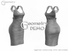 <Geometry> Chic > DEMO ( rigged mesh in standard sizing )