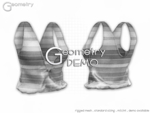 <Geometry> Candy Tank > DEMO ( rigged mesh in standard sizing )