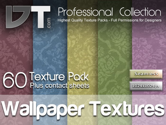 60 Classical Wallpaper Textures - Full Perm - DT Professional Collection