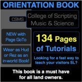 College of Scripting Music and Science ORIENTATION BOOK