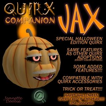 ~JJ~ Quirx Companion - Jax