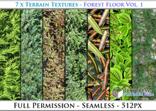 Terrain Textures: Forest Floor Vol. 1 - Full Permissions