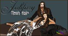 -< E'H >- jahfary  ( Man ) Mesh Hair DEMO