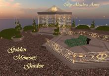Golden Moments Garden (Gazebo,Dance Floor, Topiary and Sparkle Emitter