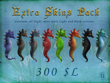 Seahorse Extra Skins Pack