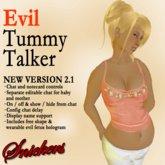 *Snickers* - Evil Pregnant Tummy Talker v2.1