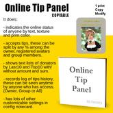 *AQF* Online Tip Panel [Copy]