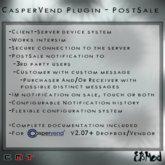 EBMod - CasperVend Plugin - PostSale
